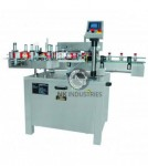 Automatic Sticker labeling machine with online batch printing